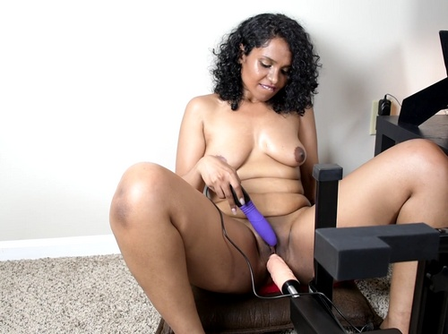 Horny Lily Fucking Machine and Sybian Sex Videos