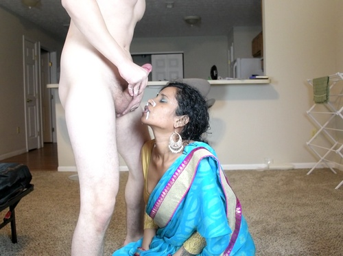 Brutal Indian Gagging Forced Blowjob With Cumshot On Face